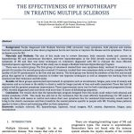 Alternative Therapy Hypnosis Multiple Sclerosis
