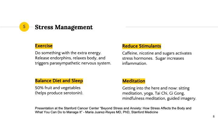 clasic stress management program